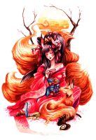 Kitsune by YunaXD