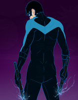Nightwing by celestialwriter