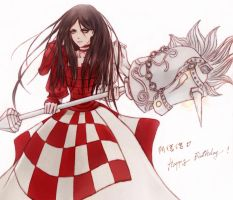 Alice: Knock and march by ericajc