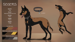 Segers Reference sheet by Sesis