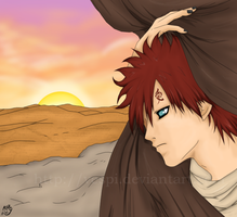 Desert Rose - Gaara by Vespi