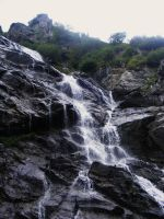 waterfall by compot-stock