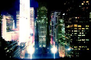 new york lights by Rhea-Batz