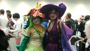 Lilligant and Mismagius by misteve