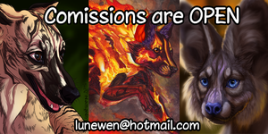 Commission status OPEN by Lunewen