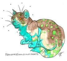 verdant spotted bluebelly wildcat by HiddenStash