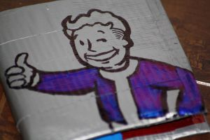 Fallout Wallet Side A by everythingerika