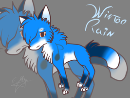 Winter rain -temporary main char- by Electrypuppy