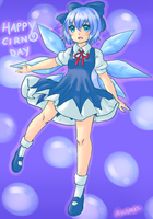 Happy Cirno Day by Hakiru