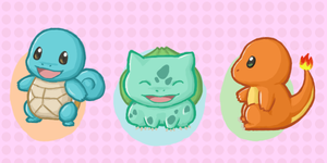 Baby Pokemon Starters by atomicspacemonkey