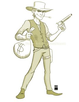 Sketch Dailies #3: Billy the Kid by EadgeArt