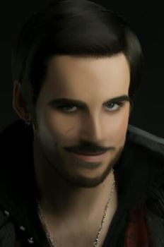 Captain Hook (Killian Jones) by Dancingmyheartout4