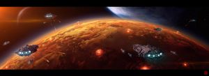 Orbital Bombardment by TheArtofSaul