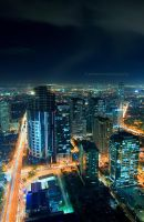 ortigas nightscape 9 by kjaex