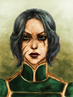 Lin Beifong by CryptCombat