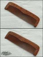 FLORAL COMB by MassoGeppetto