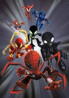 spiderverse by richard-chin