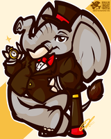 [CHUMMISSION] - DAT DAPPER PHANT by LilChu