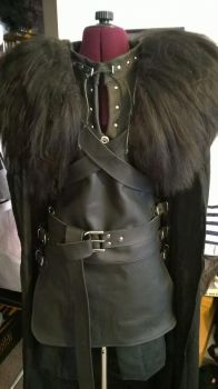 Jon Snow finished cosplay by Luraia