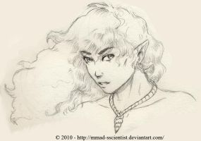 Male Water Elf by M-Skirvin