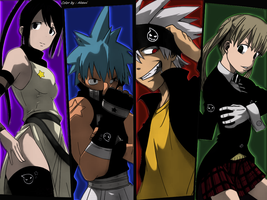 Team Soul eater  by AkemiAkira02