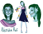 Neridia Reference Sheet by AdenChan