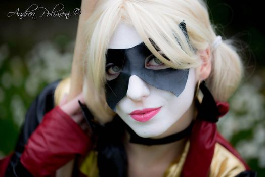 Harley Quinn Cosplay from Injustice #1 by SerenityMoonCosplay