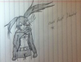 Black Rock Shooter -Sketch- by Lil-9