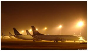 Planes In Line by ditya