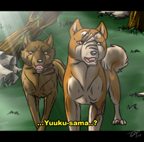 Yuuku and Chance by Frodse