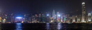 Hong Kong Skyline by LordDodo