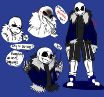 MT!Sans Reference by blackstar200