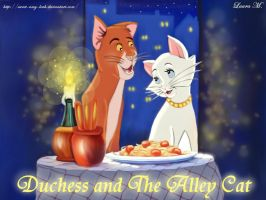 Duchess and the Alley Cat by Sweet-Amy-Leah