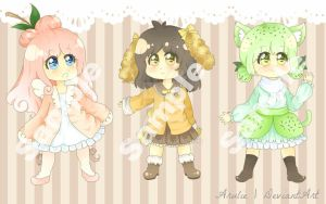 Sweet Offer Adopt 1 left!! by arulie