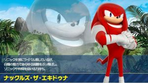 Knuckles the Echidna Profile (Japanese) by OptimusPrimeTFR