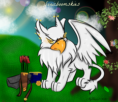 Sonicboomskies the white eyrie by CrimsonFange