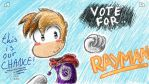vote for Rayman by IceCreamLink