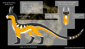 Wiccan Pataki [2015 Reference Sheet] by Kesyu