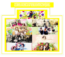 Mega PSD by SeroDuong - Happy SNSD 7th Anniversary by SeroDuong