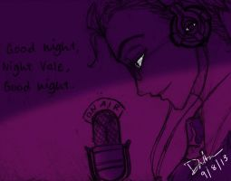 Good night, Night Vale, by DragonfireXAgent