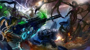 Heroes of the Storm by GarroteFrancell
