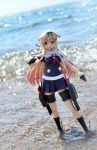Yuudachi at the Beach by gale015