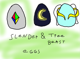 Adopt Slender and tree beast eggs 2 closed by kairimoon1