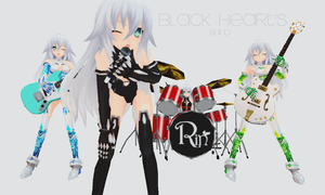 Black Heart's BAND! by xCOLOURz