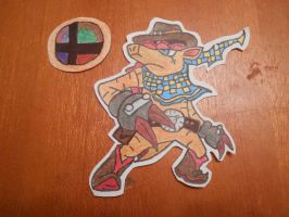 Characters I want in SSB4: Number 4: Dillon by solidsnivy97