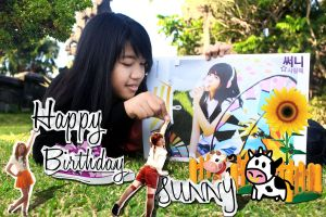 New Project, SNSD Sunny's Birthday by InnerBeauty91