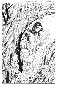 Grimm's Fairy Tales 2A Cover Small by DrewEdwardJohnson