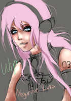 Megurine Luka WIP~~ by BeautifulMiracle