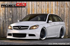 NoxiouS DesigN Mercedes C63 by noxiousdesign