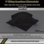 7 Vray Leather Materials Library for Cinema 4D by bestm8